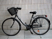 Велосипедная корзина B'TWIN (12 литров) - Фото 4
