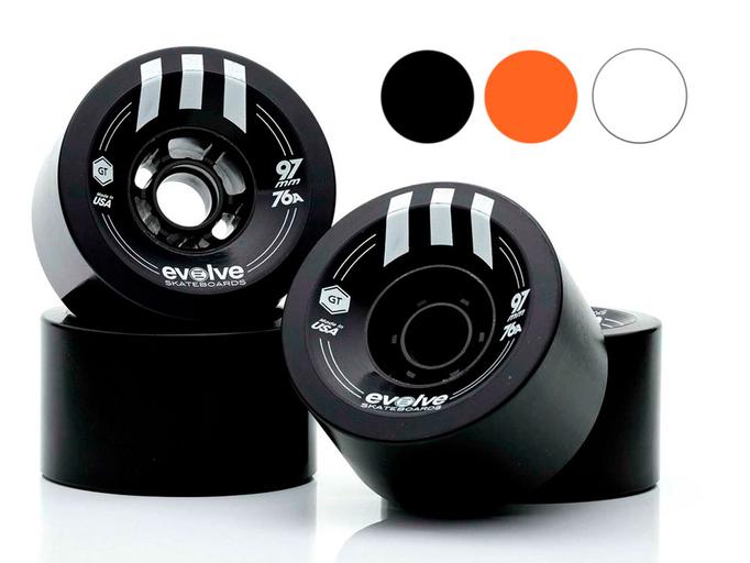 Комплект колес Evolve GTR Street 97 мм / 76A
