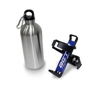 Фляга алюминиевая для велосипеда с держателем BETO