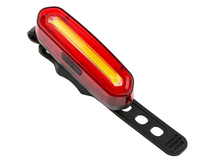 Фонарь велосипедный USB AQY-096 MX (Red/White)