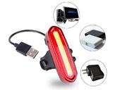 Фонарь велосипедный USB AQY-096 (Red) - Фото 6
