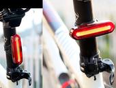 Фонарь велосипедный USB AQY-096 (Red) - Фото 8