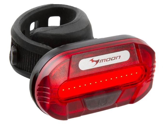 Фонарь задний быстросъемный с батареей MOON (5-220451)