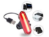 Комплект фонарей для велосипеда USB AQY-096 - Фото 5