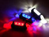 Комплект фонарей для велосипеда USB DC-918 - Фото 3