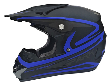 Мотошлем кроссовый Air X Spark (blue)