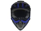 Мотошлем кроссовый Air X Spark (blue) - Фото 1