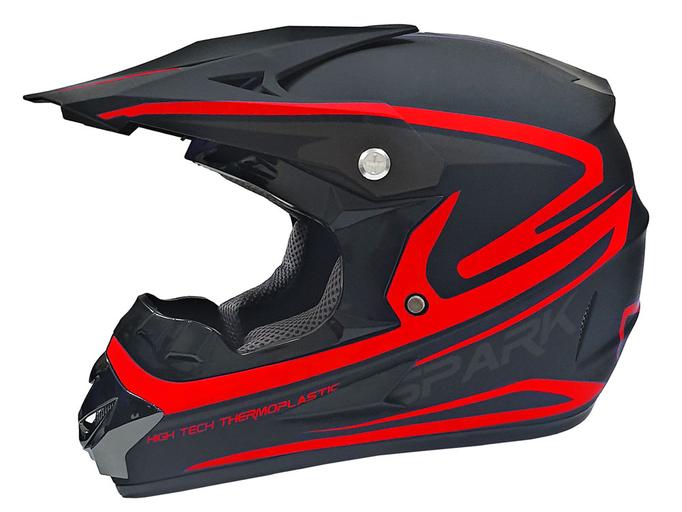 Мотошлем кроссовый Air X Spark (red)