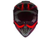 Мотошлем кроссовый Air X Spark (red) - Фото 1