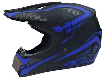 Мотошлем кроссовый Air X VIRTUE (blue) - Фото 0
