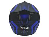 Мотошлем кроссовый Air X VIRTUE (blue) - Фото 2