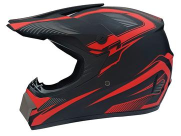 Мотошлем кроссовый Air X VIRTUE (red) - Фото 0