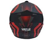 Мотошлем кроссовый Air X VIRTUE (red) - Фото 2