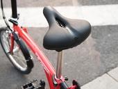 Седло велосипедное Cool Change широкое (22 см) - Фото 4