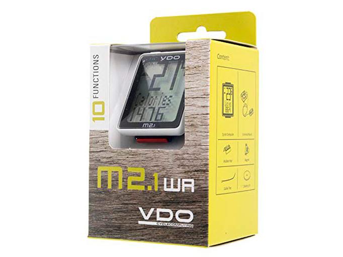 Велокомпьютер VDO M2.1WL беспроводной (10 функций)
