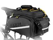 Велосипедная сумка на багажник CoolChange Bag 1680D PU (35L) Black - Фото 0