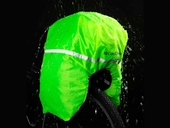 Велосипедная сумка на багажник CoolChange Bag 1680D PU (35L) Black - Фото 14