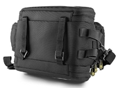 Велосипедная сумка на багажник CoolChange Bag 1680D PU (35L) Black - Фото 1