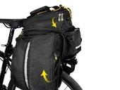 Велосипедная сумка на багажник CoolChange Bag 1680D PU (35L) Black - Фото 7