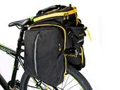 Велосипедная сумка на багажник CoolChange Bag 1680D PU (35L) Yellow - Фото 11