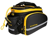 Велосипедная сумка на багажник CoolChange Bag 1680D PU (35L) Yellow - Фото 1