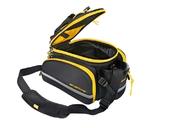 Велосипедная сумка на багажник CoolChange Bag 1680D PU (35L) Yellow - Фото 2