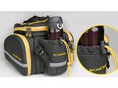 Велосипедная сумка на багажник CoolChange Bag 1680D PU (35L) Yellow - Фото 3