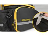 Велосипедная сумка на багажник CoolChange Bag 1680D PU (35L) Yellow - Фото 4