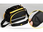 Велосипедная сумка на багажник CoolChange Bag 1680D PU (35L) Yellow - Фото 5