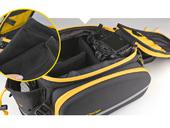 Велосипедная сумка на багажник CoolChange Bag 1680D PU (35L) Yellow - Фото 6