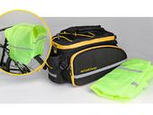 Велосипедная сумка на багажник CoolChange Bag 1680D PU (35L) Yellow - Фото 7