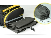 Велосипедная сумка на багажник CoolChange Bag 1680D PU (35L) Yellow - Фото 8