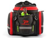Велосипедная сумка на багажник PROMEND 1680D PU (35L) Red - Фото 2