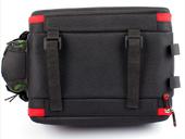 Велосипедная сумка на багажник PROMEND 1680D PU (35L) Red - Фото 5