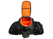 Велосипедная сумка на багажник RockBros 240D PU (35L) Black - Фото 1