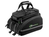 Велосипедная сумка на багажник RockBros 240D PU (35L) Black - Фото 3