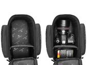 Велосипедная сумка на багажник RockBros 240D PU (35L) Black - Фото 4