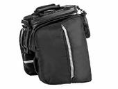 Велосипедная сумка на багажник RockBros 240D PU (35L) Carbon - Фото 2