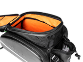 Велосипедная сумка на багажник RockBros 240D PU (35L) Carbon - Фото 4
