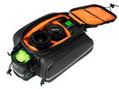 Велосипедная сумка на багажник RockBros 240D PU (35L) Carbon - Фото 5