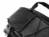 Велосипедная сумка на багажник RockBros 240D PU (35L) Carbon - Фото 6