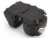 Велосипедная сумка на багажник Roswheel 1000D (37L) Black - Фото 4