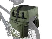 Велосипедная сумка на багажник Roswheel 1000D (37L) Green Khaki - Фото 0