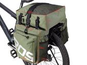 Велосипедная сумка на багажник Roswheel 1000D (37L) Green Khaki - Фото 2