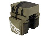 Велосипедная сумка на багажник Roswheel 1000D (37L) Green Khaki - Фото 3