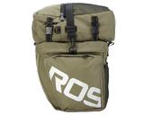 Велосипедная сумка на багажник Roswheel 1000D (37L) Green Khaki - Фото 4