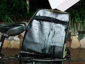 Велосипедная сумка на багажник Roswheel 1000D (37L) Green Khaki - Фото 8
