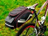 Велосумка на багажник Roswheel Bag 300D PU (13L) Red - Фото 6