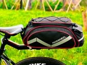 Велосумка на багажник Roswheel Bag 300D PU (13L) Red - Фото 7