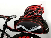 Велосумка на багажник Roswheel Bag 300D PU (13L) Red - Фото 8